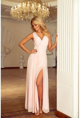 Eleganckie, długie suknie na ważne uroczystości